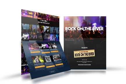 Rock on the River concert Timmins
